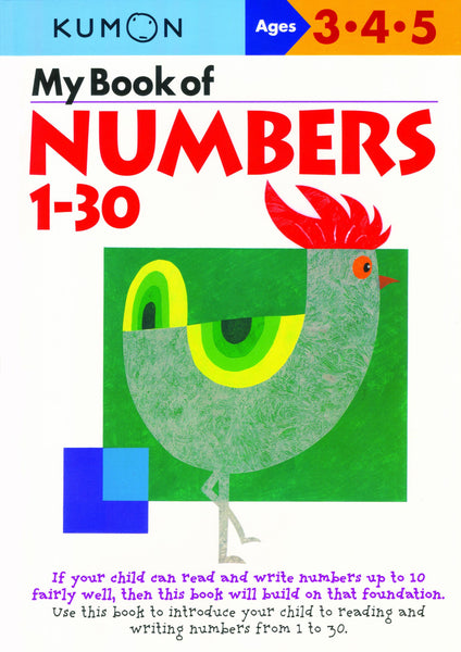 My Book Of: Number 1-30