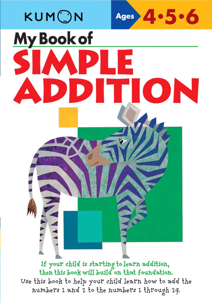 My Book Of: Simple Addition