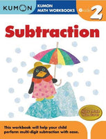 Math Workbooks: Subtraction Grade 2