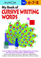 My Book Of: Cursive Writing Words