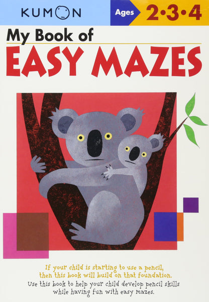 My Book Of: Easy Mazes