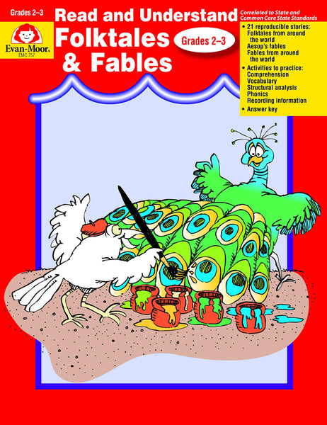 Read and Understand: Folktales and Fables, Grades 2-3 - Teacher Reproducibles