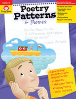 Poetry Patterns & Themes, Grades 3-6 - Teacher Reproducibles