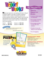 How to Report on Books, Grades 3-4 - Teacher Resource