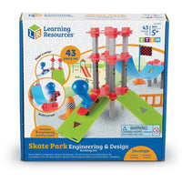 Skate Park Engineering & Design Building Set