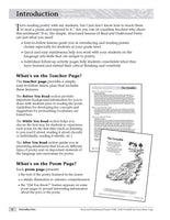 Read and Understand Poetry, Grades 4-5 - Teacher Reproducibles