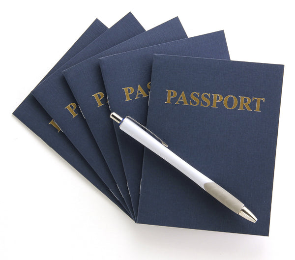 Blank Passport Books
