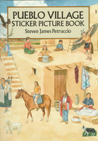Pueblo Village Sticker Picture Book