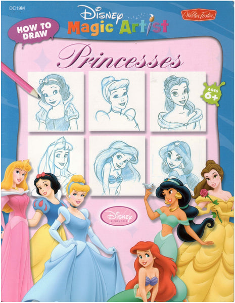 Disney Learn To Draw: Princesses