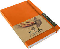 Travelers Journal Large - Orange