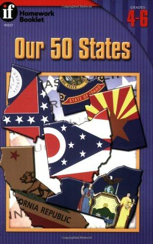 Our 50 States Homework Booklet, Grades 4-6