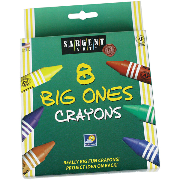 "Sargent Washable Crayons ""The Big Ones"""