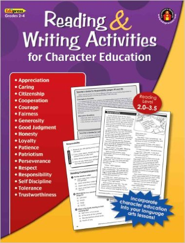 Reading & Writing Activities for Character Education GR 2-4