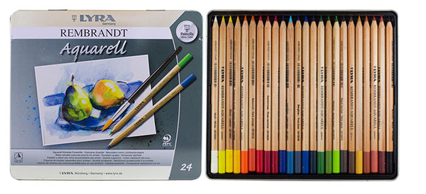 Lyra - 24 Rembrandt Aquarell Watercolor Pencils