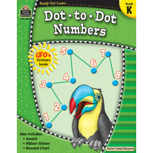 Ready Set Learn: Dot to Dot Numbers