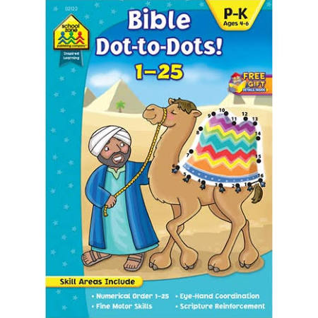 Bible Dot-to-Dots! 1-25