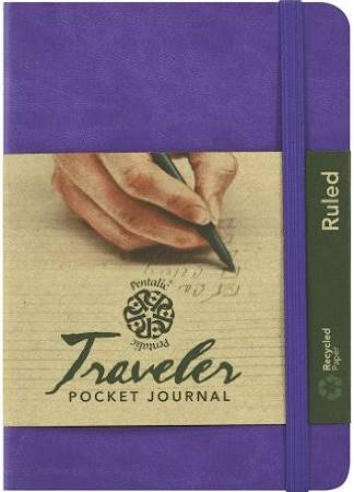 4x6 Ruled Pentalic Journal-Violet