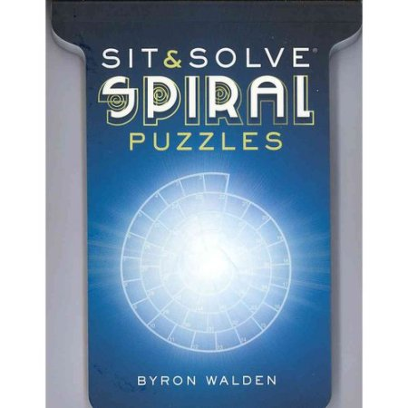 Sit & Solve Spiral Puzzles