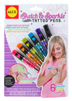 Sketch and Sparkle Tattoo Pens
