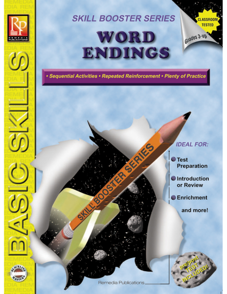 Skill Booster: Word Endings