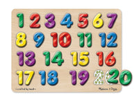 Numbers Sound Puzzle-Spanish
