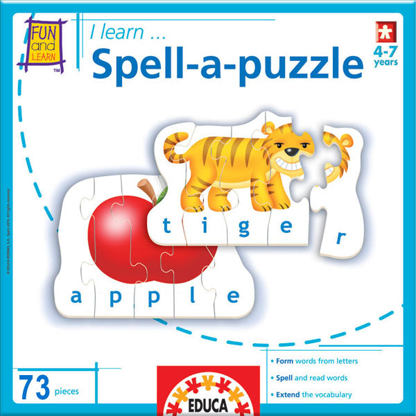 I Learn... Spell A Puzzle