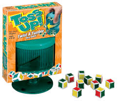 Toss Up! Twist & Tumble Dice Game
