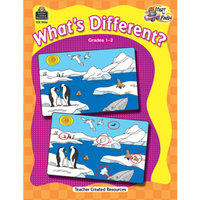 Start To Finish: What's Different? Gr 1-2