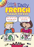 Color & Learn Easy French Phrase for Kids