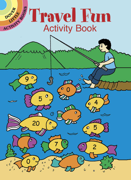 Travel Fun Activity Book