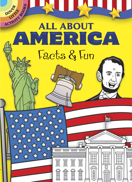 All About America Facts & Fun Activity Book