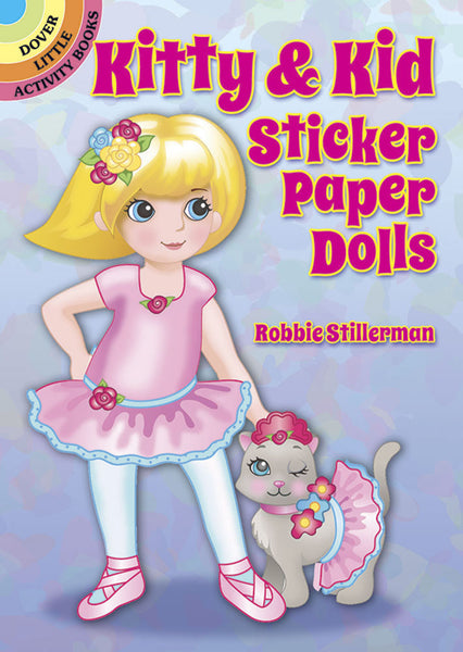 Kitty & Kid Sticker Paper Dolls (Mini Dover)