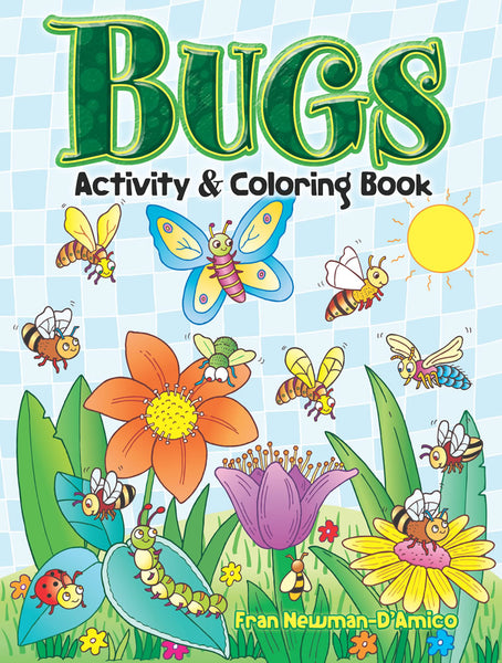 Bugs Coloring Book