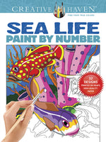 Sea Life Paint By Number (Creative Haven)