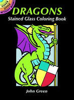 Dragons Stained Glass Coloring Book (Mini Dover)