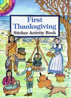 First Thanksgiving Sticker Activity Book (Mini Dover)