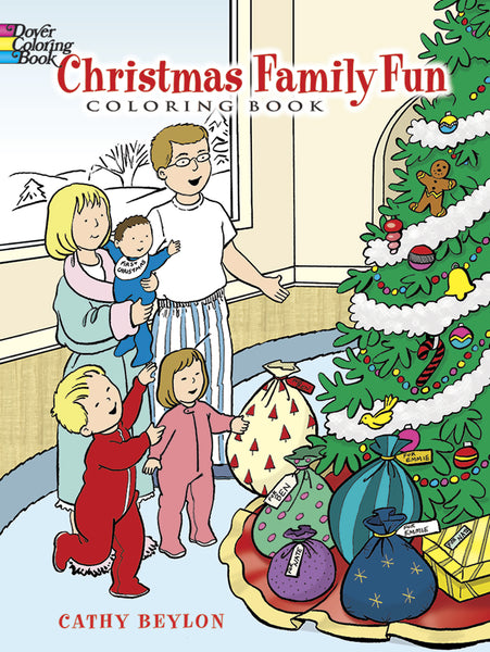 Christmas Family Fun Coloring Book