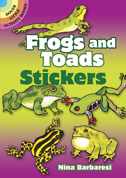 Frogs & Toads Stickers (Mini Dover)