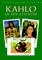 Kahlo: 16 Art Stickers (Mini Dover)