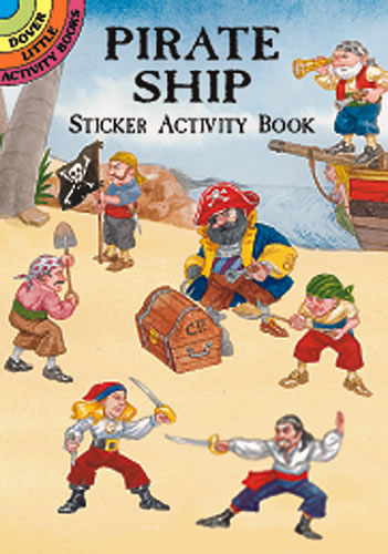 Pirate Ship  Sticker Activity Book (Mini Dover)