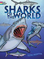 Sharks of the World Coloring Book