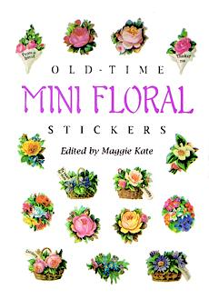Old-Time Mini Floral Stickers (Mini Dover)