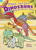 Create Your Own Dinosaurs Sticker Activity Book (Mini Dover)