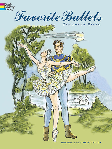 Favorite Ballets Coloring Book