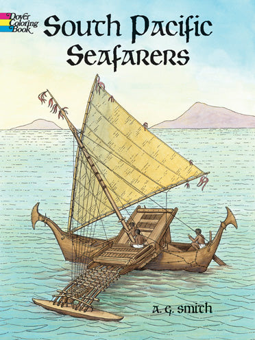 South Pacific Seafarers Coloring Book