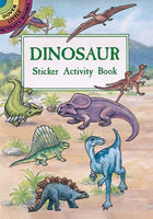 Dinosaurs Sticker Activity Book (Mini Dover)