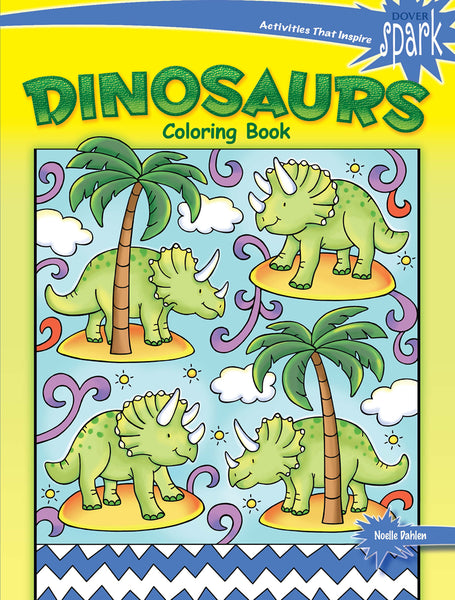 Dionsaurs Coloring Book