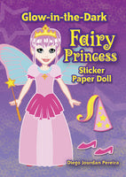 Glow-in-the-Dark Fairy Princess Sticker Paper Doll (Mini Dover)