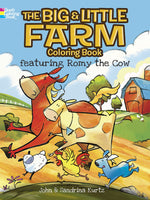 The Big & Little Farm Coloring Book