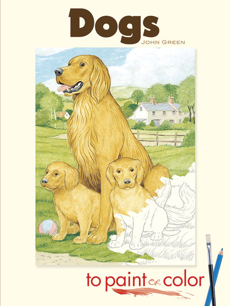 Dogs Coloring Books